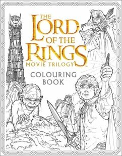 The Lord of the Rings Movie Trilogy Colouring Book - Warner Brothers; Tolkien, J. R. R.