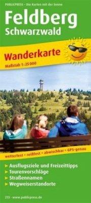 PublicPress Wanderkarte Feldberg