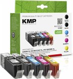 KMP C100V Multipack kompatibel mit Canon PGI-550/CLI-551 XL