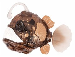 Roboter-Fisch Robo Fish Deep Sea, Anglerfish Braun