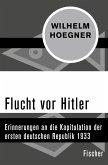 Flucht vor Hitler (eBook, ePUB)