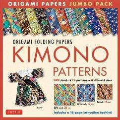Origami Paper Jumbo Pack: Kimono Patterns