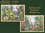 Jumbo 11104 - Spring und Summer Hedgerow, 2 x 500 Teile
