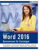 Word 2016 - Basiswissen (eBook, PDF)