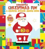 Christmas Fun: A Colorful Sticker Shapes Book