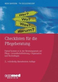 Checklisten für die Pflegeberatung