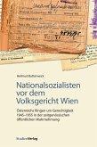 Nationalsozialisten vor dem Volksgericht Wien (eBook, ePUB)