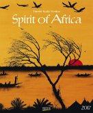 Spirit of Africa 2017. Kunst Art Kalender