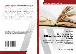 Einführung der Differenzialrechnung in der Schule