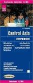Reise Know-How Landkarte Zentralasien / Central Asia (1:1.700.000) : Usbekistan, Kirgisistan, Turkmenistan und Tadschiki