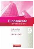 Fundamente der Mathematik 9. Schuljahr - Gymnasium Niedersachsen - Arbeitsheft mit Lösungen