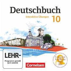 10. Schuljahr, Interaktive Übungen, CD-ROM / Deutschbuch, Gymnasium Östliche Bundesländer und Berlin
