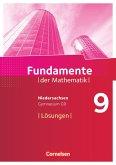 Fundamente der Mathematik 9. Schuljahr - Gymnasium Niedersachsen - Lösungen zum Schülerbuch