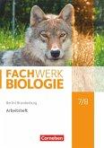 Fachwerk Biologie 7./8. Schuljahr - Berlin/Brandenburg - Arbeitsheft