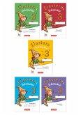 Einsterns Schwester - Sprache und Lesen 3. Schuljahr - Themenheft 1-4 und Projektheft mit Schuber