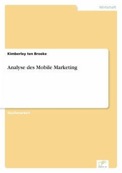Analyse des Mobile Marketing