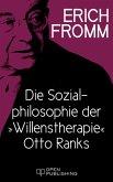 """Die Sozialphilosophie der """"Willenstherapie"""" Otto Ranks (eBook, ePUB)"""