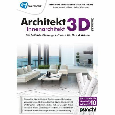 Architekt 3d x8 innenarchitekt download f r windows for Architekt und innenarchitekt