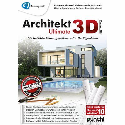 architekt 3d x8 ultimate download f r windows. Black Bedroom Furniture Sets. Home Design Ideas
