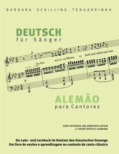 Deutsch für Sänger - Alemão para Cantores (eBook, ePUB)