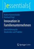 Innovation in Familienunternehmen (eBook, PDF)