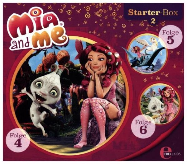mia and me starter box 3 audio cd h rbuch. Black Bedroom Furniture Sets. Home Design Ideas