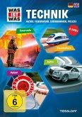 Was ist was: Technik - Autos, Feuerwehr, Eisenbahnen, Polizei (4 Discs)