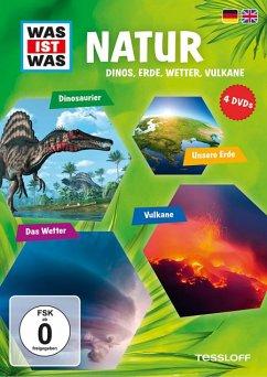 Was ist Was: Natur - Dinos, Erde, Wetter, Vulkane DVD-Box