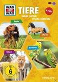 Was ist was: Tiere - Hunde, Katzen, Pferde, Heimtiere (4 Discs)