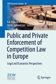 Public and Private Enforcement of Competition Law in Europe (eBook, PDF)
