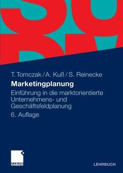 Marketingplanung (eBook, PDF) - Tomczak, Torsten; Kuß, Alfred; Reinecke, Sven