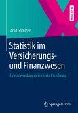 Statistik im Versicherungs- und Finanzwesen (eBook, PDF)