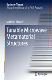 Tunable Microwave Metamaterial Structures (eBook, PDF)