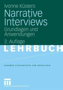 Narrative Interviews (eBook, PDF) - Küsters, Ivonne