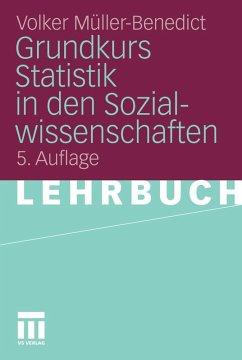 Grundkurs Statistik in den Sozialwissenschaften (eBook, PDF) - Müller-Benedict, Volker