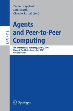 Agents and Peer-to-Peer Computing (eBook, PDF)