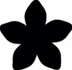 Stanze Blütenblätter 16 mm