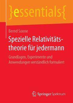 Spezielle Relativitätstheorie für jedermann (eBook, PDF) - Sonne, Bernd