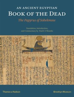 An Ancient Egyptian Book of the Dead: The Papyrus of Sobekmose - O'Rourke, Paul F.