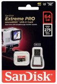 SanDisk MicroSDXC UHS-II 64GB Extreme PRO SDSQXPJ-064G-GN6M3