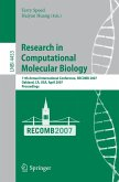 Research in Computational Molecular Biology (eBook, PDF)