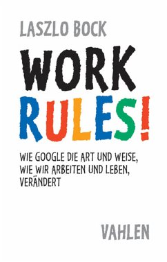 Work Rules! (eBook, ePUB) - Bock, Laszlo