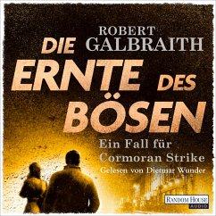 Die Ernte des Bösen / Cormoran Strike Bd.3 (MP3-Download) - Galbraith, Robert
