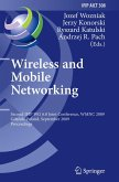 Wireless and Mobile Networking (eBook, PDF)
