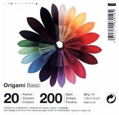 Origami Basic, 7,5 x 7,5 cm
