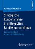 Strategische Kundenanalyse in mittelgroßen Familienunternehmen (eBook, PDF)