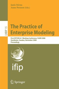 The Practice of Enterprise Modeling (eBook, PDF)