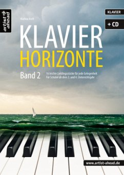 Klavier-Horizonte, m. Audio-CD - Kreft, Mathias