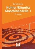 Köhler/Rögnitz Maschinenteile 1 (eBook, PDF)