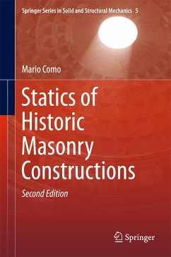 Statics of Historic Masonry Constructions (eBook, PDF) - Como, Mario
